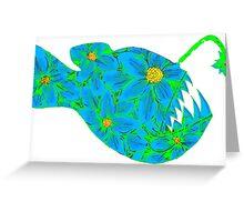 Angler Flower Greeting Card