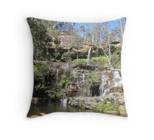 Rainbow Waters Blackldown Tableland QLD - photo Sue Throw Pillow