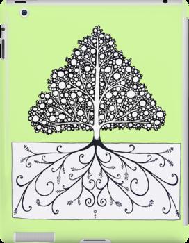 iPad Fancy Tree by eleveneleven