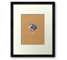 Scorpio Dinosaur Zodiac Framed Print
