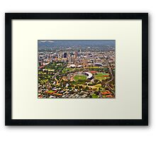 Adelaide from the Air Framed Print