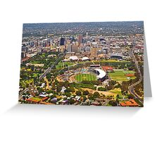 Adelaide from the Air Greeting Card