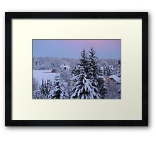Once Upon a Time ... Storybook Picture Framed Print