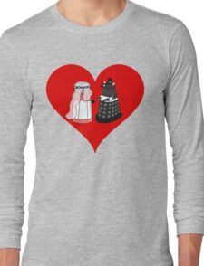 Dalek Wedding Long Sleeve T-Shirt