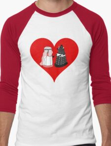 Dalek Wedding Men's Baseball ¾ T-Shirt