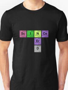 SCIENCE NERD - Periodic Elements Scramble! T-Shirt