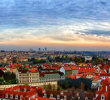 Prague overview by krzysiekrodak