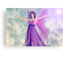 The Majestic Fairy Queen Canvas Print