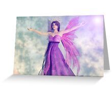 The Majestic Fairy Queen Greeting Card