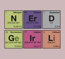 NERD GIRL - Periodic Elements Scramble! by dennis william gaylor