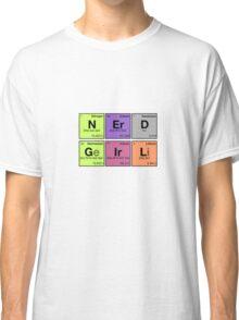 NERD GIRL - Periodic Elements Scramble! Classic T-Shirt