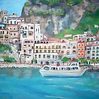 The Amalfi Coast by Teresa Dominici