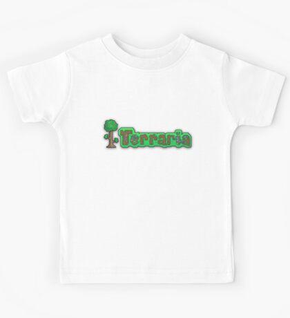 Terraria Logo Kids Tee