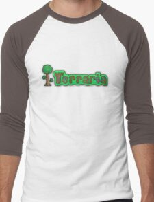 Terraria Logo Men's Baseball ¾ T-Shirt