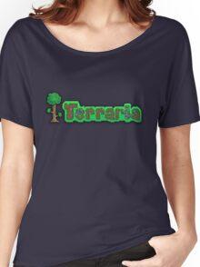 Terraria Logo Women's Relaxed Fit T-Shirt