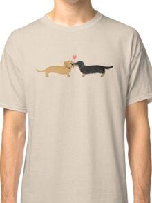 Dachshunds Love Classic T-Shirt