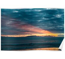 Sunrise At Sandy Bay Poster