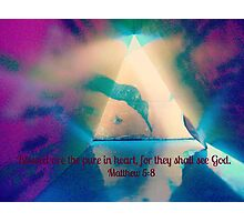 Matthew 5:8 Photographic Print