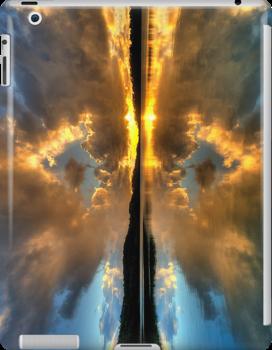 Narrabeen Reflections - Sydney Australia - (IPAD CASE) by Philip Johnson
