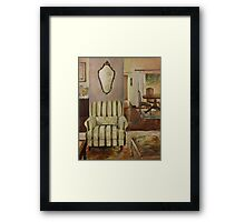 Interior with Chair Framed Print