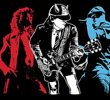 AC DC, Rock Band, Heavy Metal Posters by fine-art-prints