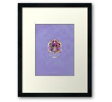 Gemini Dinosaur Zodiac Framed Print