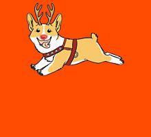 Rudolph the Red Nosed Corgi Unisex T-Shirt