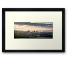 Early Frost Framed Print