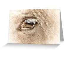The way to heaven is on horseback. Greeting Card