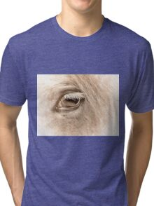 The way to heaven is on horseback. Tri-blend T-Shirt