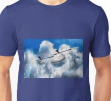 A digital painting of my vector drawing of a Chinook Type Helicopter Unisex T-Shirt