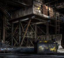 Industrial steel complex.  by Ian Hufton