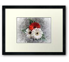 Bouquet. Framed Print