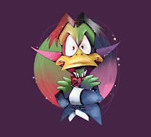 Count Duckula Womens Fitted T-Shirt