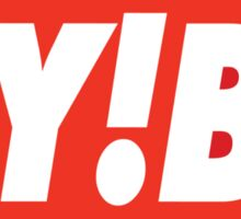 Godspeed You! Obey Logo Sticker