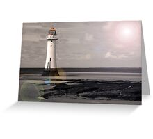 Lens Flare Pop Greeting Card