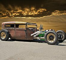 Rat Rod Sedan ll by DaveKoontz