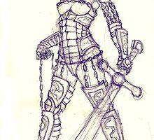 Warrior by hasanabbas