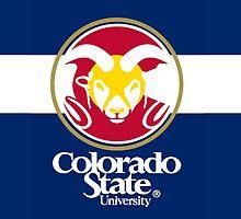 Colorado State University / Colorado Flag by Jacob Sorokin
