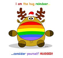 reindeer hug by rainergalea