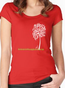 Tree of life t Women's Fitted Scoop T-Shirt