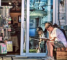 How Bazaar - Provincetown Massachusetts by Debbie Pinard
