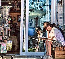 How Bazaar - Provincetown Massachusetts by Debbie Pinard