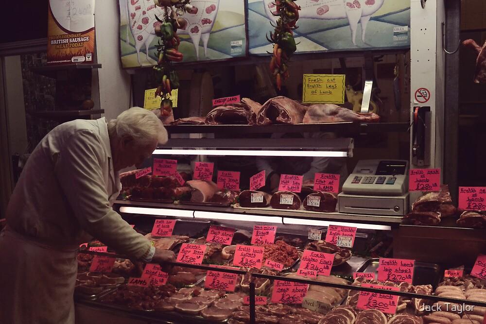 Butchers Labels by Jack Taylor