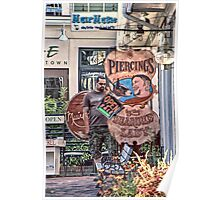 The Bearded Lady - Provincetown Massachusetts Poster