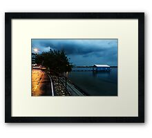 Lonely in the Night Framed Print
