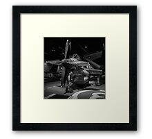 Fairey Gannet Framed Print