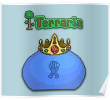 Terraria King Slime Poster