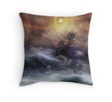 "The Ride of ""La Navidad"" Throw Pillow"