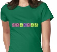 evolution/revolution - Periodic Elements Scramble! Womens Fitted T-Shirt